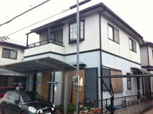 加古川市-O様邸の外壁塗装・屋根塗装施工前
