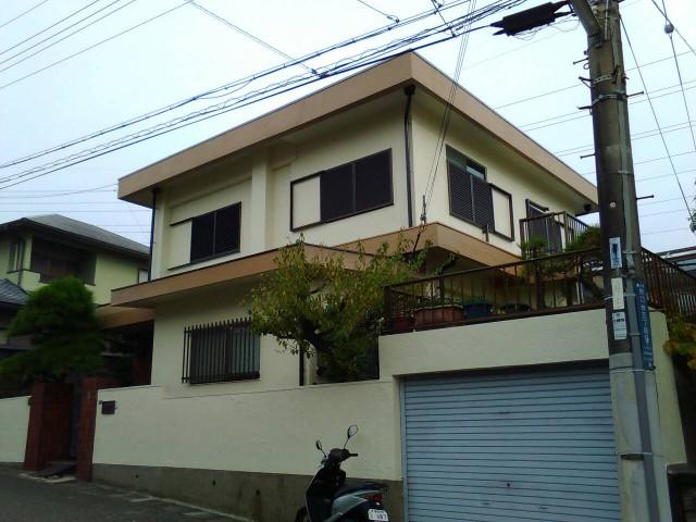 兵庫県神戸市垂水区H様邸の外壁塗装・屋根防水