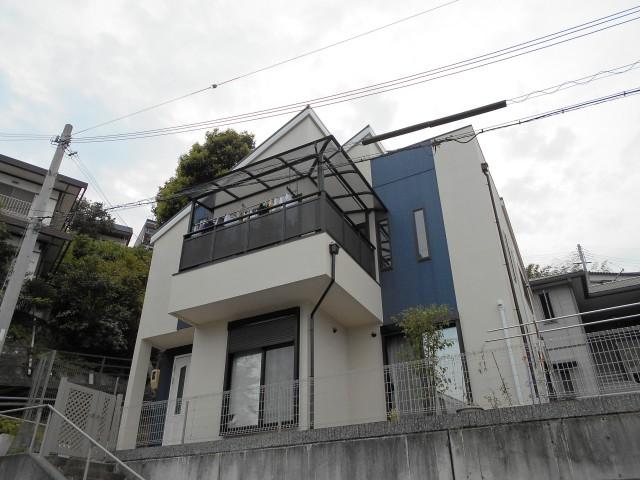 兵庫県神戸市垂水区K様邸への外壁塗装・屋根塗装