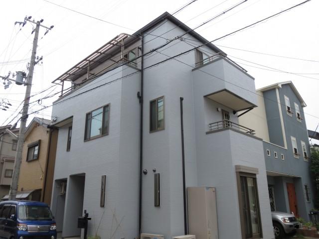 白と黒のコントラスト兵庫県神戸市須磨区O様邸