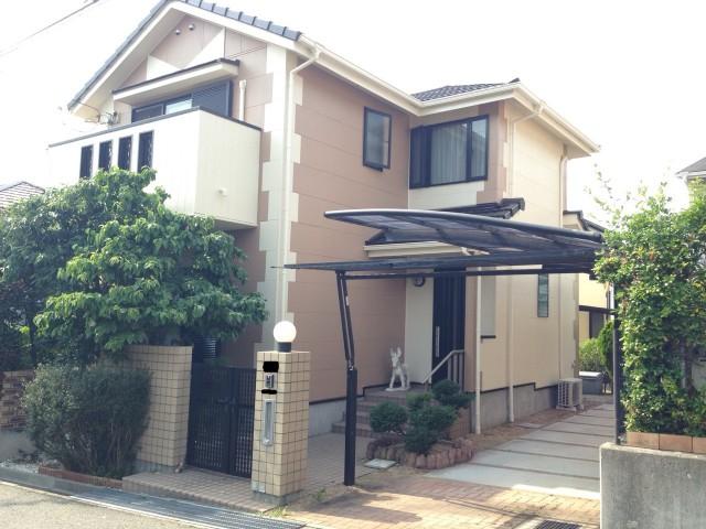 柱の模様がキレイな兵庫県神戸市西区のM様邸