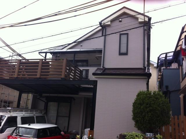 兵庫県神戸市垂水区N様邸の外壁塗装・屋根塗装