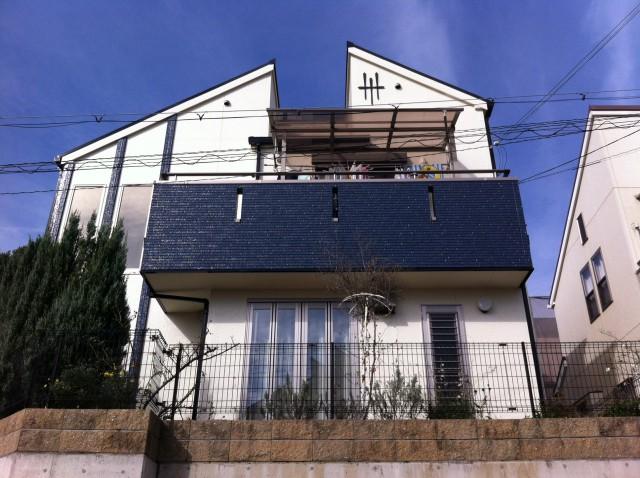 神戸市須磨区A様邸の外壁塗装・屋根塗装