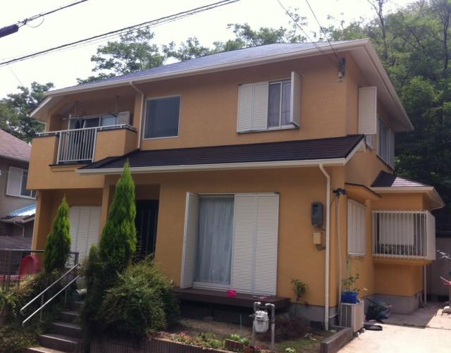 オレンジがキレイな兵庫県神戸市北区のN様邸