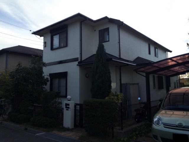 兵庫県神戸市西区M様邸への外壁塗装・屋根塗装