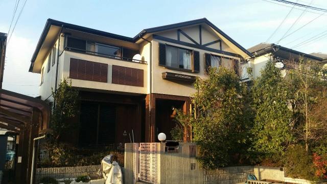 神戸市須磨区のT様邸の外壁塗装