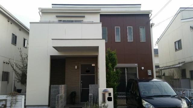 神戸市西区F様邸の外壁塗装・屋根塗装
