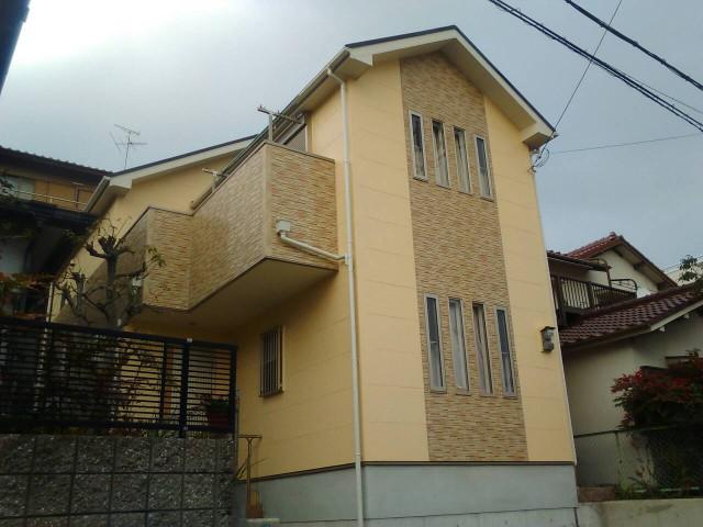 西宮市M様邸の外壁塗装・屋根塗装