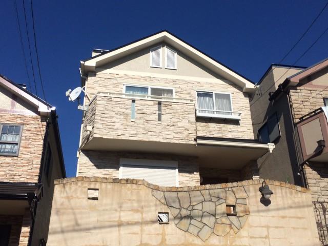 神戸市須磨区M様邸の外壁塗装・屋根塗装