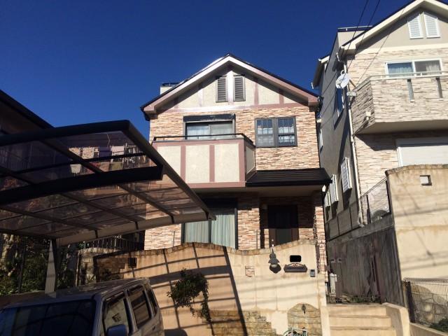 神戸市須磨区Y様邸の外壁塗装・屋根塗装