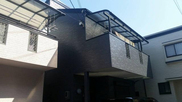 西宮市 外壁塗装・屋根塗装 – 西宮市のK様邸の外観
