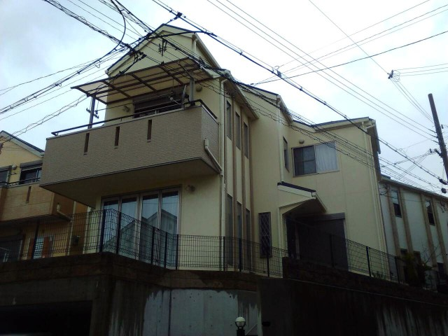 神戸市須磨区F様邸の外壁塗装・屋根塗装