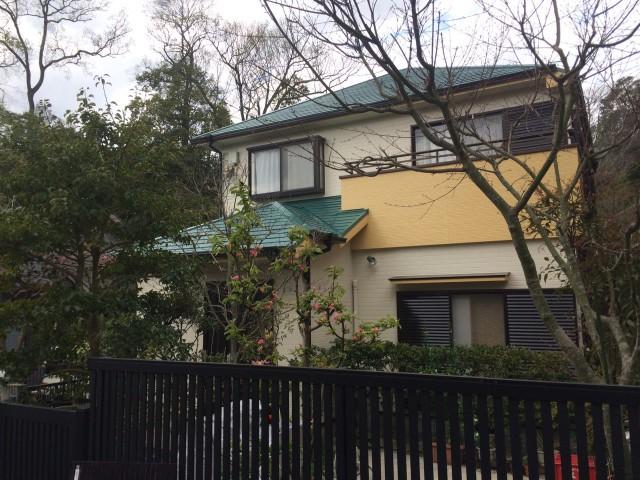 宝塚市Y様邸の外壁塗装・屋根塗装