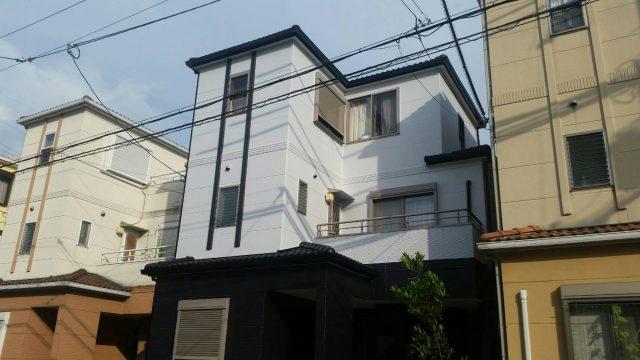 兵庫県宝塚市のO様邸 外壁・屋根塗装のリフォーム工事