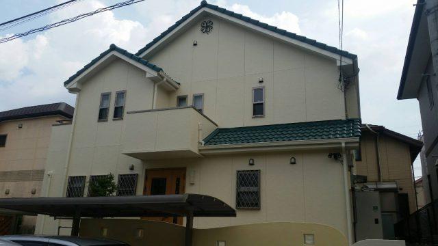 兵庫県神戸市北区のU様邸の外壁・屋根塗装のリフォーム工事