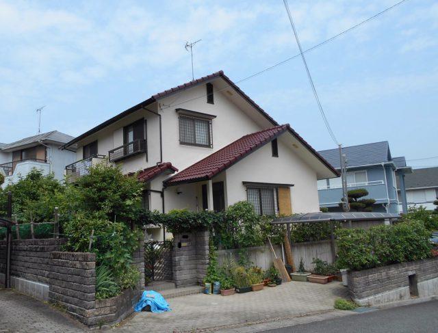 兵庫県神戸市北区のK様邸の外壁・屋根塗装のリフォーム工事