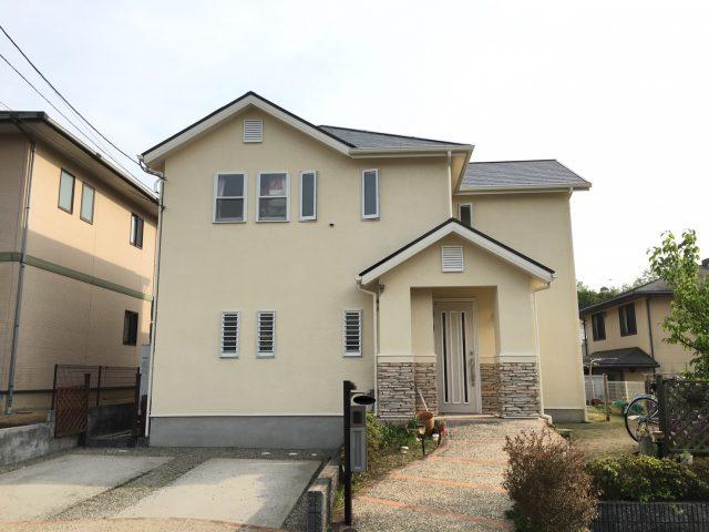 兵庫県神戸市北区のM様邸の外壁・屋根塗装のリフォーム工事