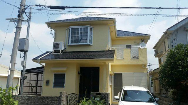 兵庫県神戸市西区のM様邸の外壁・屋根塗装のリフォーム工事