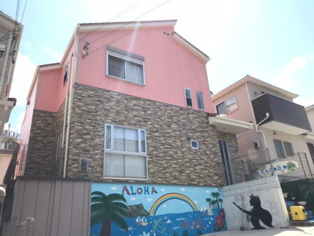 神戸市垂水区 Y様邸 外壁塗装工-施工後