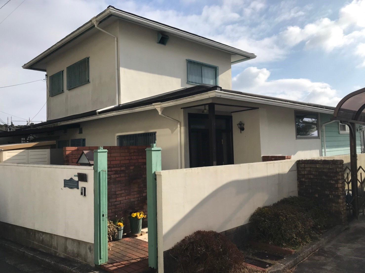 外壁・屋根塗装工 - 芦屋市 S様邸-施工前