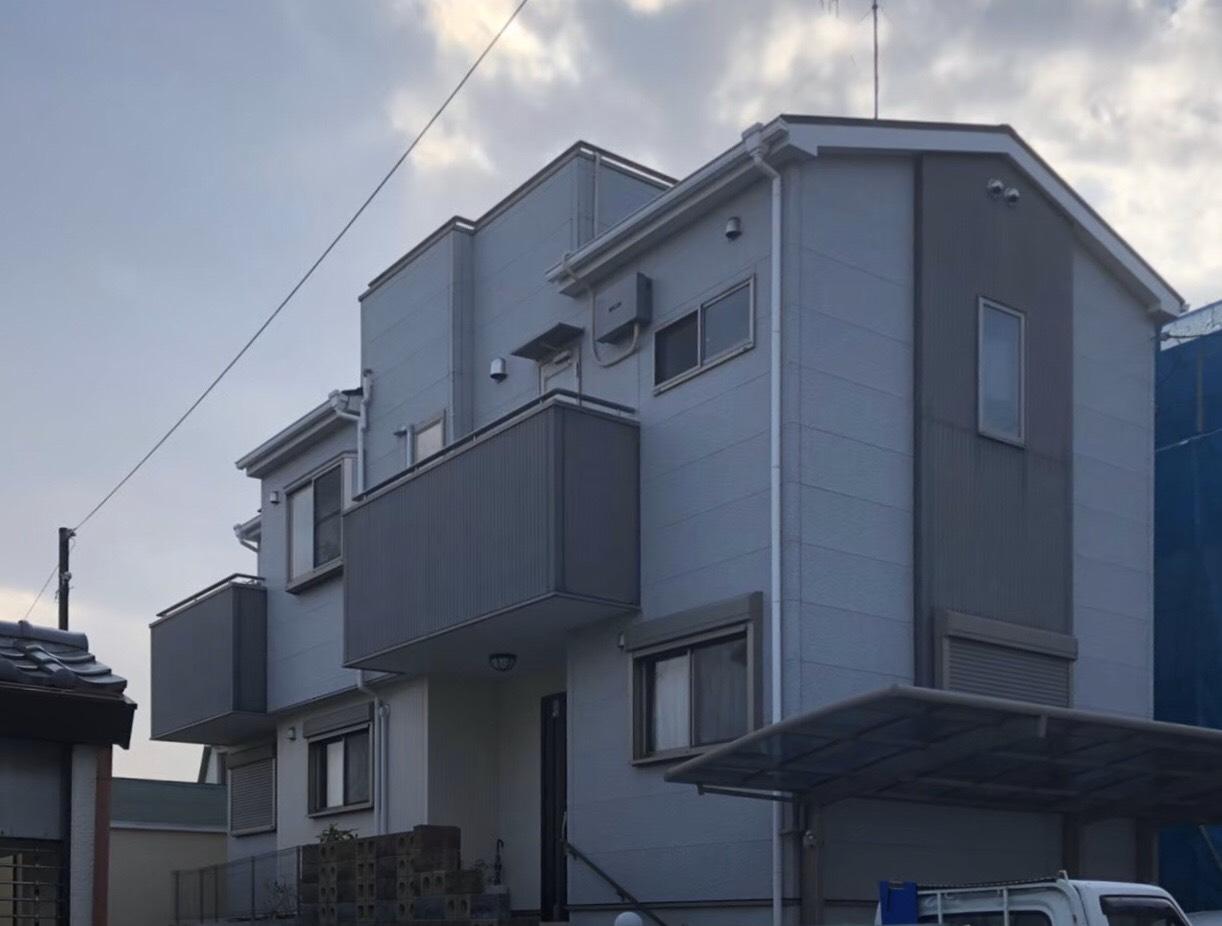 宝塚市T様邸-外壁塗装-施工前