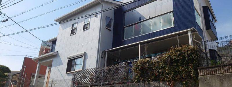 神戸市北区のS様邸 - 外壁・屋根塗装及びベランダ土間防水工事-施工後