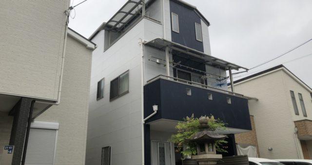 施工後-尼崎市 S様邸外壁・屋根塗装工事