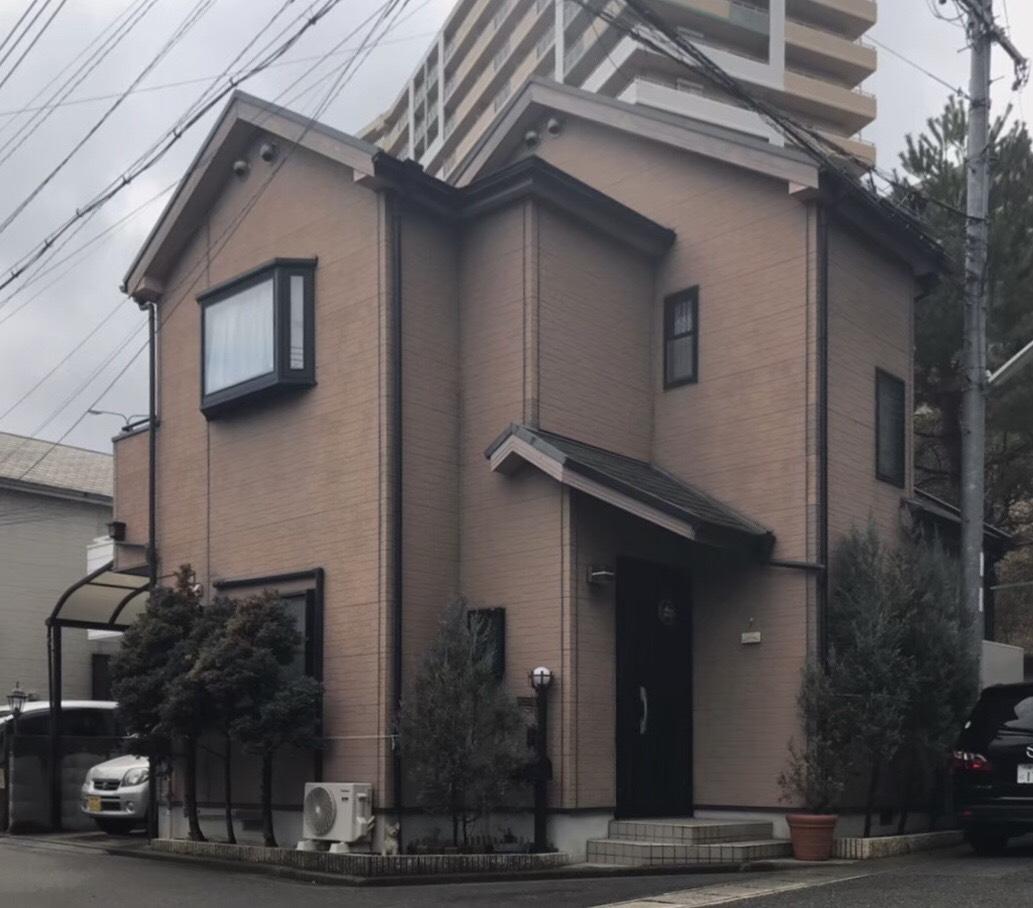 施工前-神戸市垂水区 T様邸 外壁・屋根塗装工事
