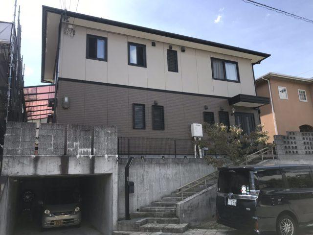 神戸市北区 外壁・屋根塗装工事のリフォーム工事
